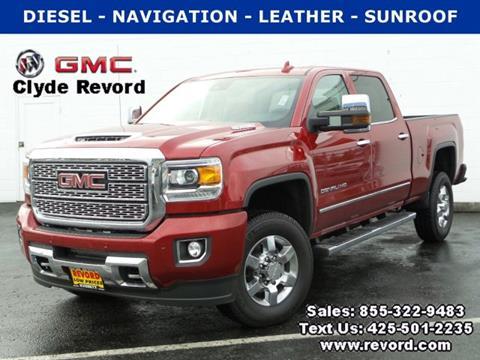 Gmc sierra 3500hd for sale in everett wa for Clyde revord motors everett wa