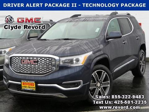 2018 gmc acadia for sale in washington for Clyde revord motors everett wa