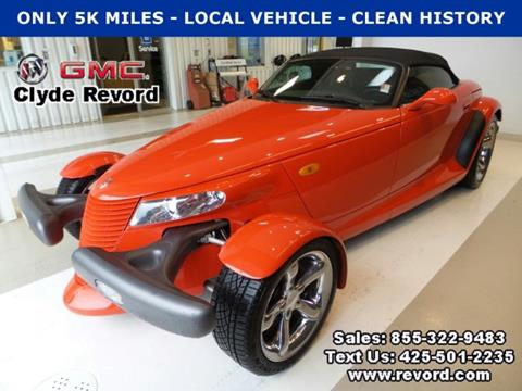 1999 plymouth prowler for sale for Clyde revord motors everett wa