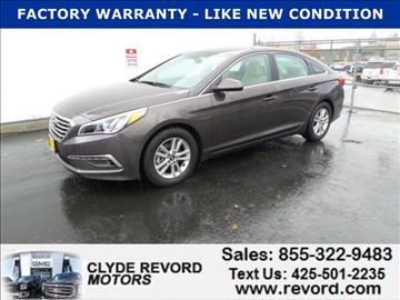 2015 Hyundai Sonata for sale in Everett, WA