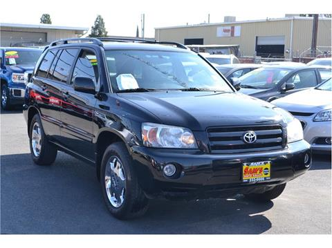 2005 Toyota Highlander for sale in Fresno, CA