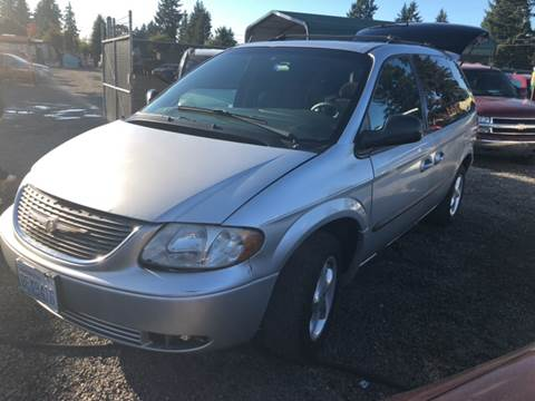 2002 Chrysler Voyager for sale in Spanaway, WA