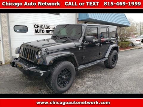 2013 Jeep Wrangler Unlimited for sale in Mokena, IL