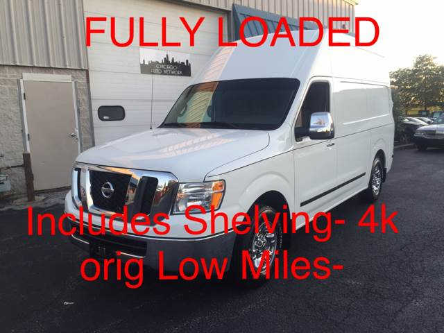 2014 Nissan NV Cargo for sale at Chicago Auto Network in Mokena IL