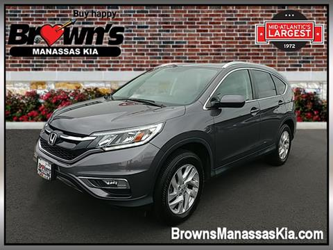 2015 Honda CR-V for sale in Manassas, VA