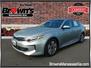 2017 Kia Optima Hybrid for sale in Manassas, VA