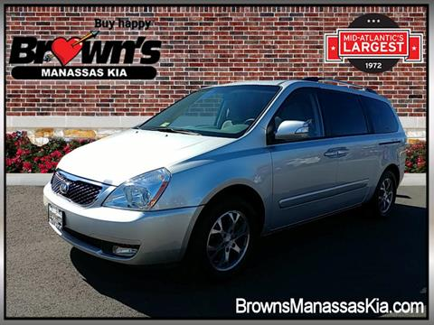 2014 Kia Sedona for sale in Manassas, VA