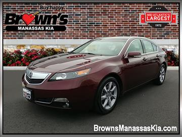2013 Acura TL for sale in Manassas, VA