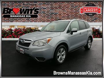 2015 Subaru Forester for sale in Manassas, VA