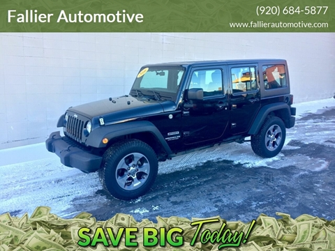 2016 Jeep Wrangler Unlimited for sale in Manitowoc, WI