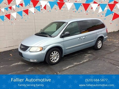 2002 Chrysler Town and Country for sale in Manitowoc, WI