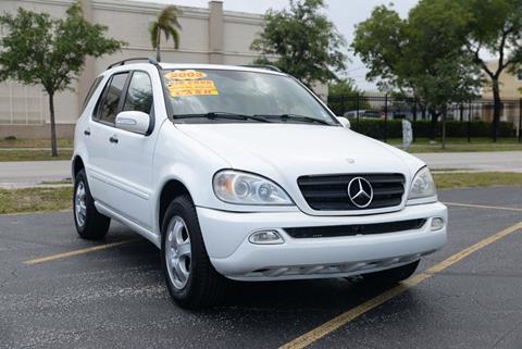 2003 Mercedes-Benz M-Class for sale in Miramar, FL