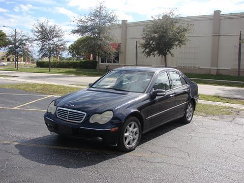 2001 Mercedes-Benz C-Class for sale in Miramar, FL