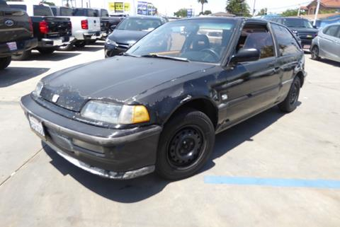1990 Honda Civic for sale in Lynwood, CA