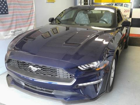 2018 Ford Mustang for sale in Java Center, NY