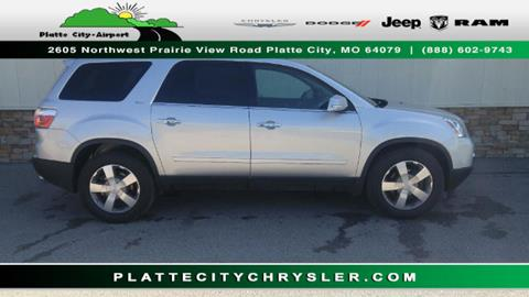 2012 Gmc Acadia For Sale In Missouri