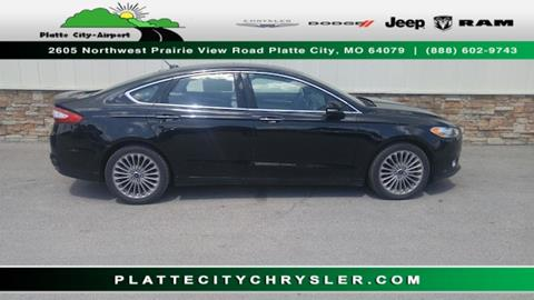 2016 Ford Fusion for sale in Platte City MO