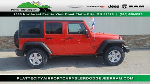 2017 Jeep Wrangler Unlimited for sale in Platte City MO