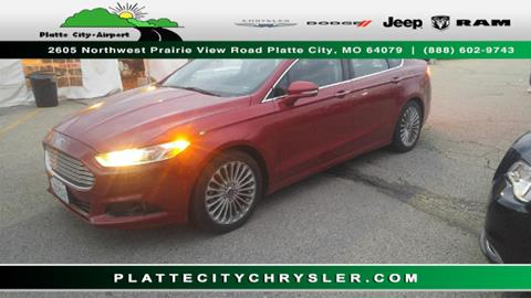 2014 Ford Fusion for sale in Platte City MO