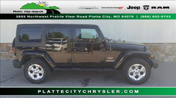 2013 Jeep Wrangler Unlimited for sale in Platte City, MO