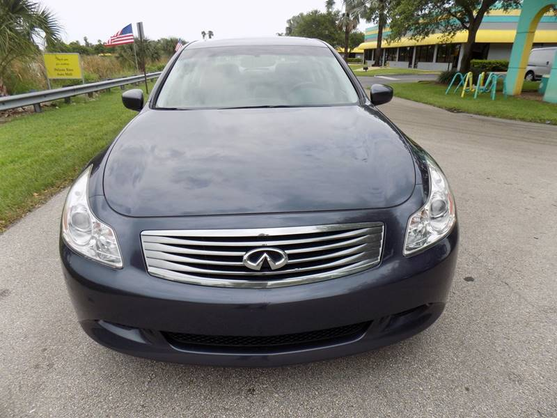 2009 Infiniti G37 Sedan AWD x 4dr Sedan - Davie FL