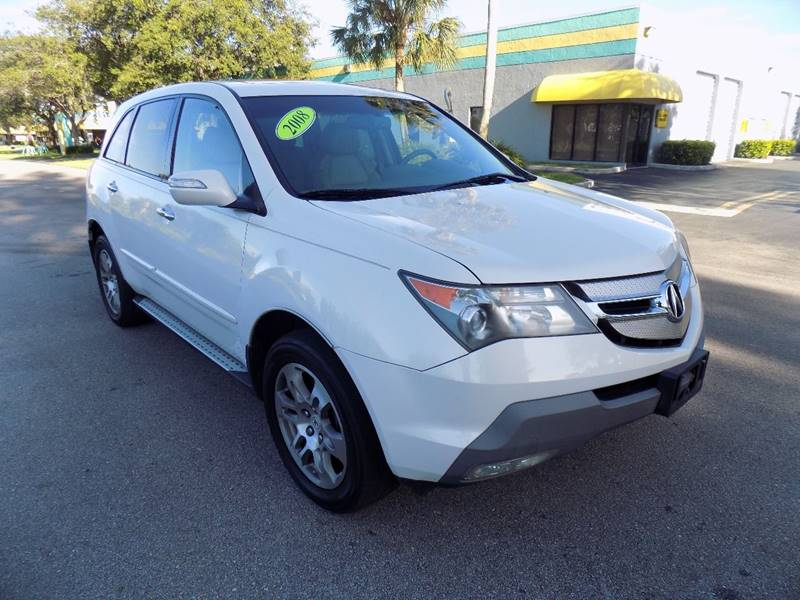 2008 Acura MDX SH-AWD 4dr SUV w/Technology Package - Davie FL