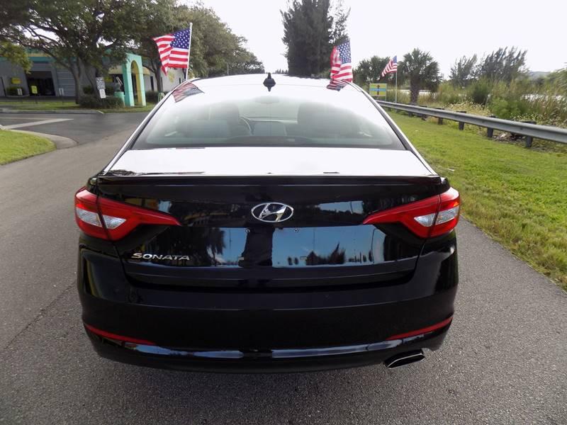 2016 Hyundai Sonata SE 4dr Sedan PZEV - Davie FL