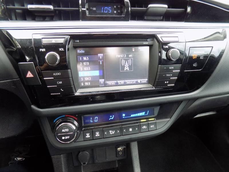 2014 Toyota Corolla S Premium 4dr Sedan - Davie FL