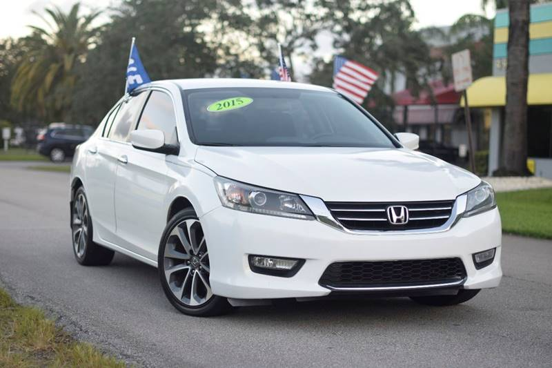 Honda Accord Sport Dr Sedan CVT In Davie FL Synergy Auto Deals - Accord vehicle
