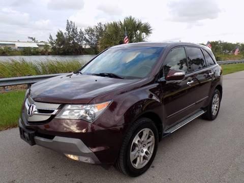 2008 Acura MDX for sale in Davie, FL