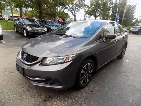 2014 Honda Civic for sale in Davie, FL