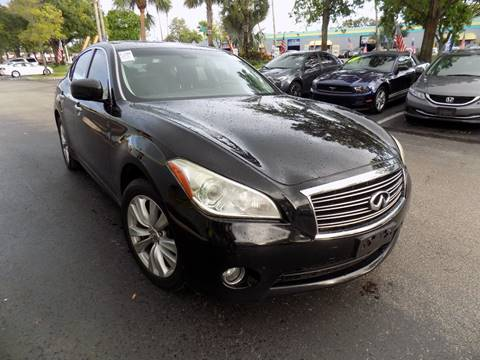 2011 Infiniti M37 for sale in Davie, FL