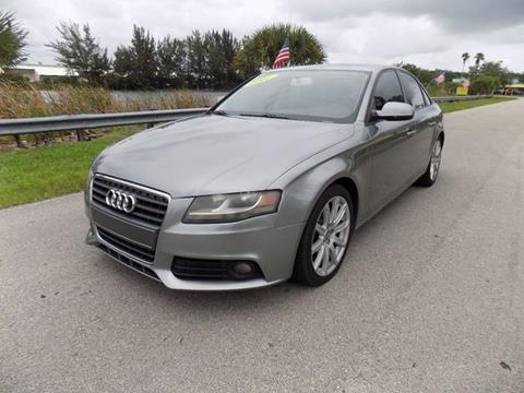 2011 Audi A4 for sale in Davie, FL