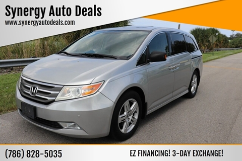 2012 Honda Odyssey for sale in Davie, FL