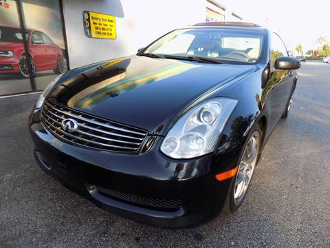 2007 Infiniti G35 for sale in Davie, FL