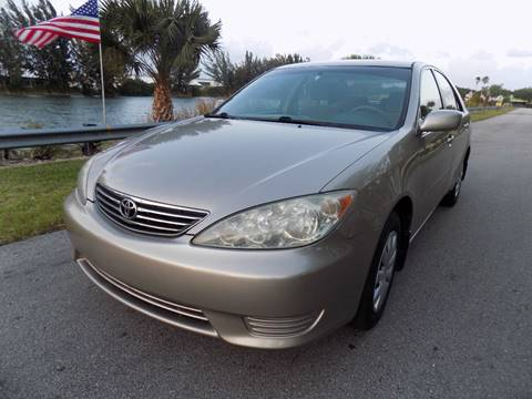 2005 Toyota Camry for sale in Davie, FL