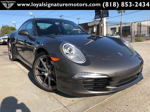 2013 Porsche 911 for sale in Van Nuys, CA