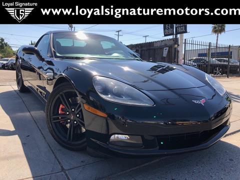 Corvette C6 For Sale >> 2008 Chevrolet Corvette For Sale In Van Nuys Ca