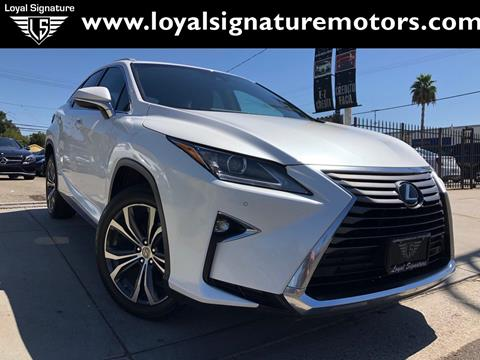 2016 Lexus RX 350 for sale in Van Nuys, CA