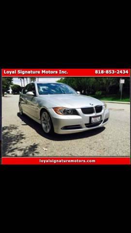 2007 BMW 3 Series for sale at Loyal Signature Motors Inc. in Van Nuys CA