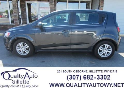 2014 Chevrolet Sonic for sale in Casper, WY