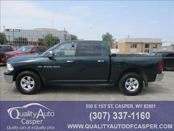 2011 RAM Ram Pickup 1500 for sale in Casper, WY