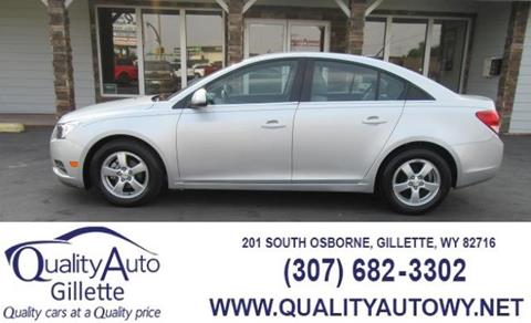 2012 Chevrolet Cruze for sale in Casper, WY