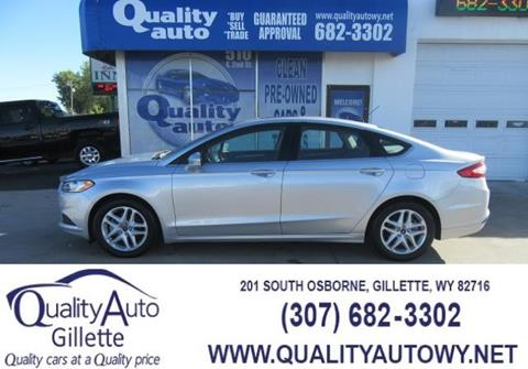 2016 Ford Fusion for sale in Casper, WY
