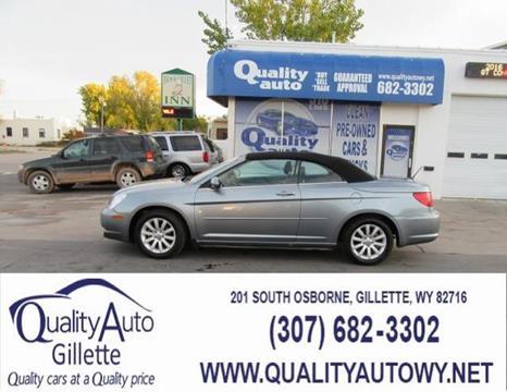 2010 Chrysler Sebring for sale in Casper, WY