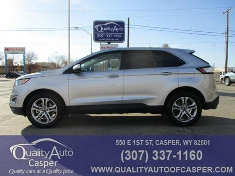 2017 Ford Edge for sale in Casper, WY