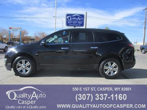 2017 Chevrolet Traverse for sale in Casper, WY
