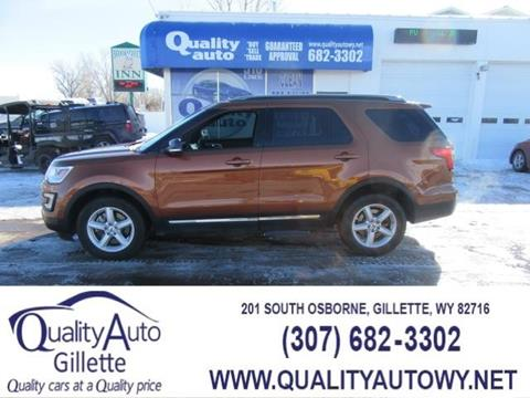 2017 Ford Explorer for sale in Casper, WY