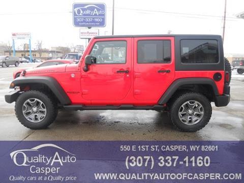 2013 Jeep Wrangler Unlimited for sale in Casper, WY