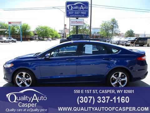 2016 Ford Fusion for sale in Casper, WY